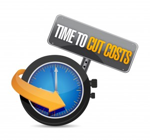 Time to cut cost